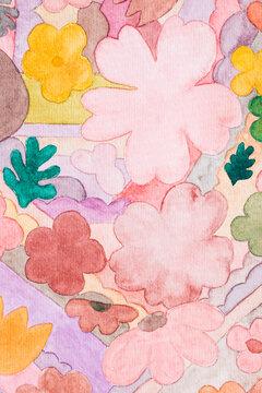 Flowers Watercolor Art