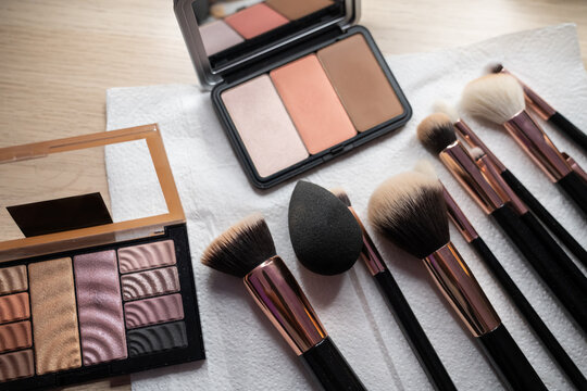 Make-up Brushes And Cosmetic