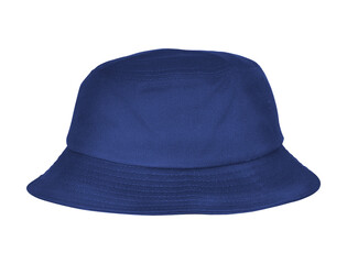 Fototapeta Use this Luxurious Bucket Hat Mockup In Deep Ultramarine Color, for the most effective display of your design. obraz
