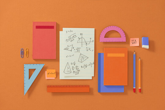 Geometry math formulas and drawing graphs