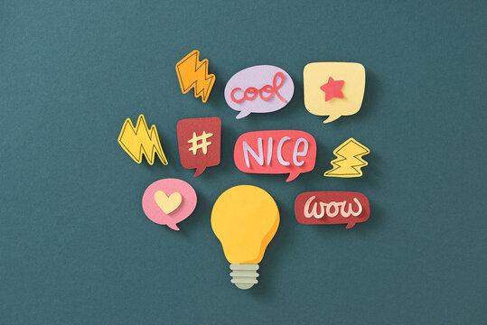 Big idea creative concept.