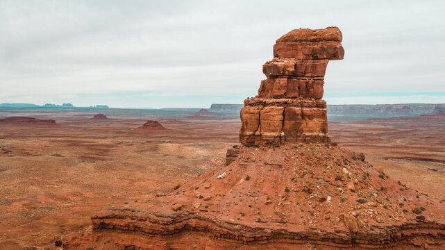 eagle looking rock formation