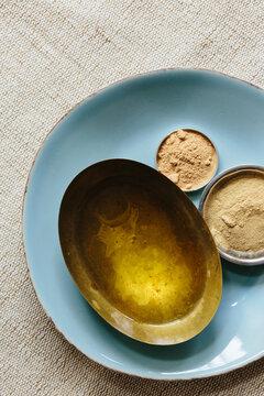 Ayurvedic Oil & Herbs