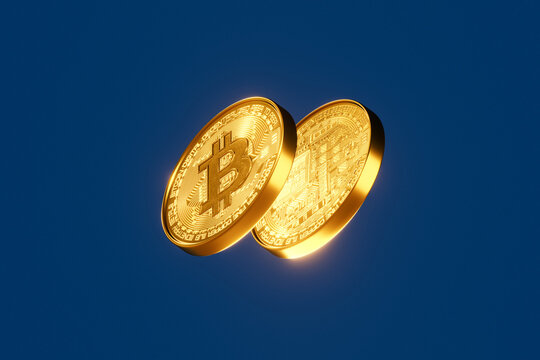 Obverse and Reverse of the Bitcoin Coin