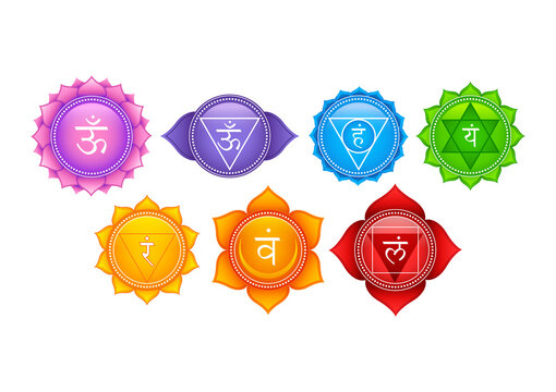 Tantra Sapta Chakra meaning seven meditation wheel various focal points used in a variety of ancient meditation practices