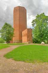Mysia wieża na zamku w Kruszwicy