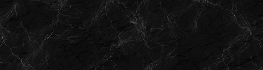Obraz grunge texture background,black marble background with yellow veins - fototapety do salonu