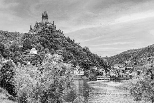 Cochem und Reichsburg an der Mosel