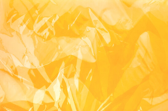 Abstract orange reflect line plastic texture background