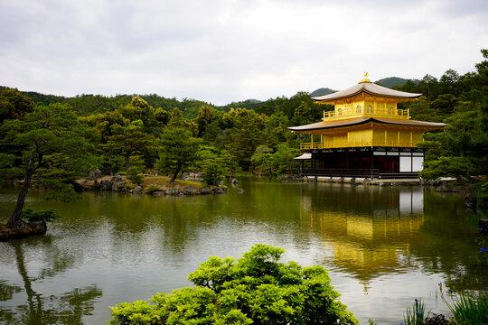 Kinkakuji Temple in Kyoto.