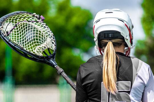 Lacrosse female team - american teamsports themed photo