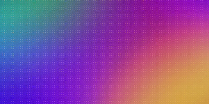 Minimal colorful gradient background with dots. 3D illustration template backdrop for modern compositions