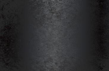 Obraz Luxury black metal gradient background with distressed cracked concrete texture. - fototapety do salonu