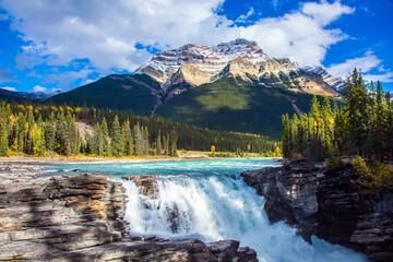 Canada. Athabasca Falls