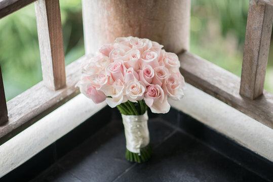 Flower bouquet for a weddin