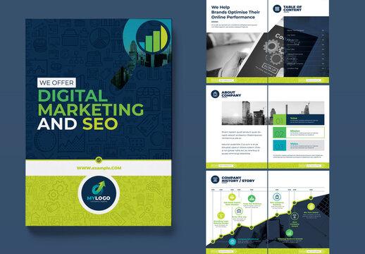 Marketing Bi-Fold Brochure