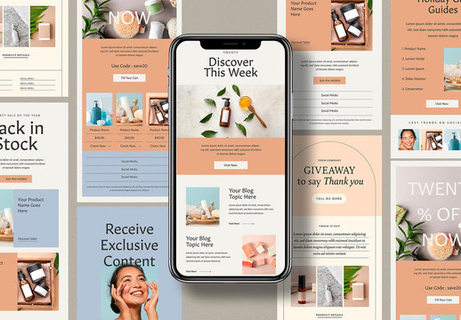 Simple Email Newsletter Layout