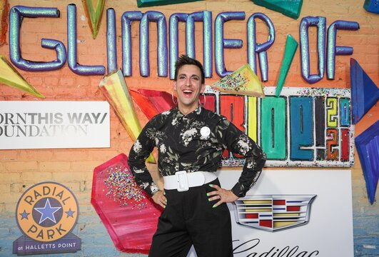 Marti Gould Cummings on stage for Playbill Hosts Live Concert GLIMMER OF LIGHT to Celebrate LGBTQ Pride Month