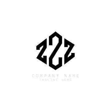 ZZZ letter logo design with polygon shape. ZZZ polygon logo monogram. ZZZ cube logo design. ZZZ hexagon vector logo template white and black colors. ZZZ monogram, ZZZ business and real estate logo.