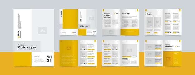 Obraz modern product catalogue design template - fototapety do salonu