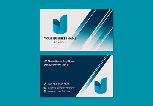 Business Card Editable Layout