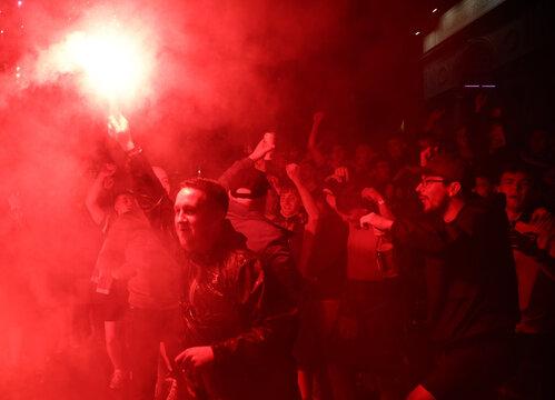 Euro 2020 - Fans gather for England v Scotland