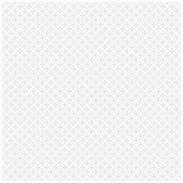 日本の伝統文様 七宝 幾何学模様 灰色
