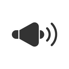 Speaker solid icon. - fototapety na wymiar