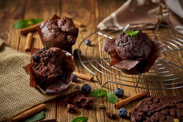 Obraz muffinka - fototapety do salonu