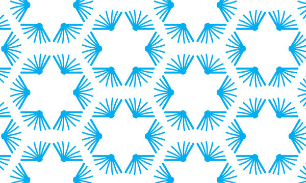 Hebrew or Jewish school or library pattern