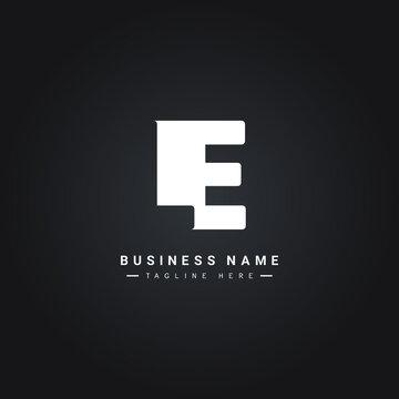 Initial Letter LE Logo - Minimal Business Logo