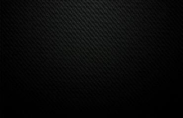 Black Carbon Fibre Texture - Dark Tech Background - fototapety na wymiar