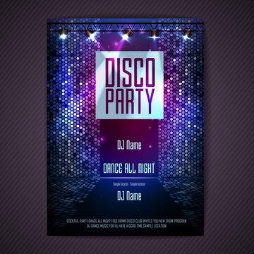 Nightlife party vector