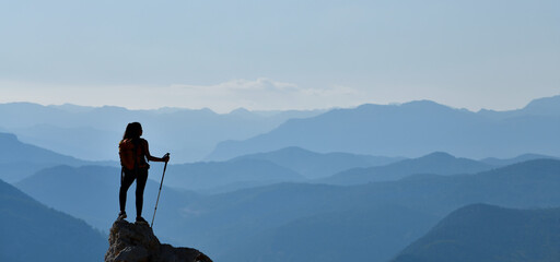Mountaineer Young Woman