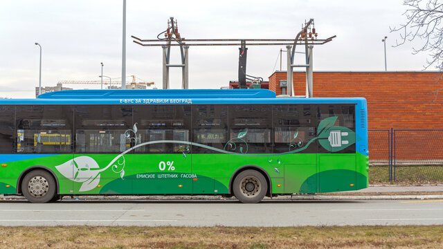 Electric Bus Gantry Charger Station