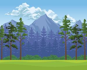 wanderlust forest scene