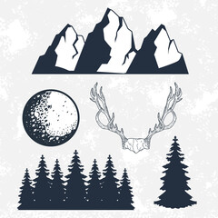 wanderlust five icons