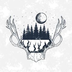 wanderlust horned emblem