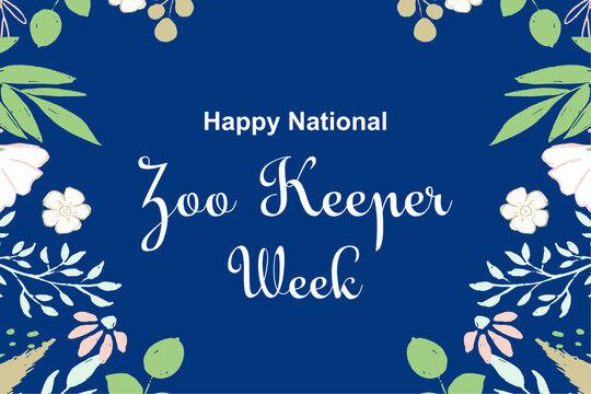 National Zoo Keeper Week