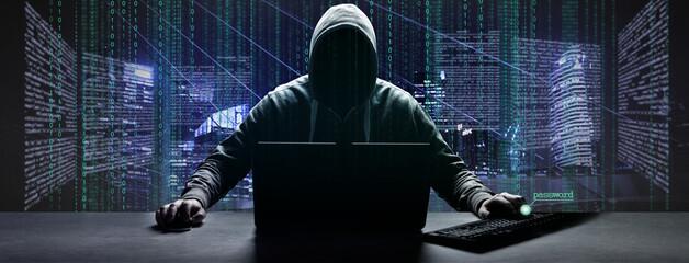 Fototapeta Hacker - Cyber Kriminalität obraz
