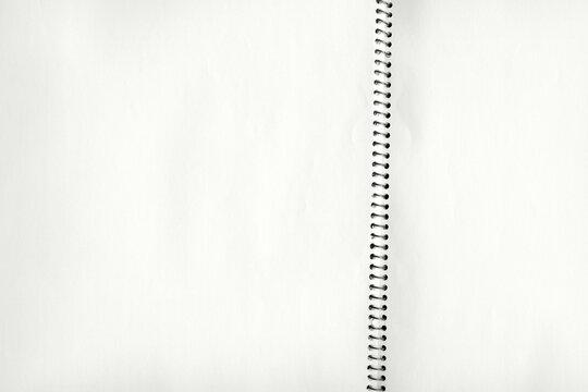 紙テクスチャー背景(白色) スケッチブックの紙のテクスチャ