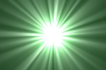 Fototapeta Ilustracja przedstawiająca rozbłysk światła na kolorowym tle. obraz