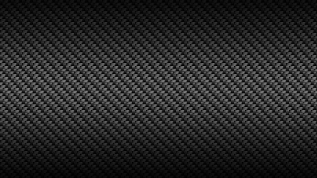 2D illustration of silver metallic woven threads running diagonally on a dark background