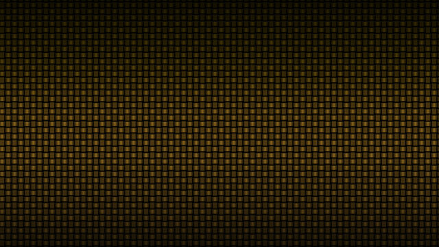 2D background of gold woven square mesh patterns - 2D illustration of woven gold square textures