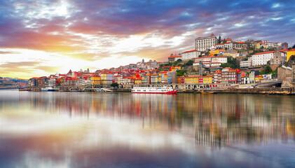 Porto city at sunset, Portugal