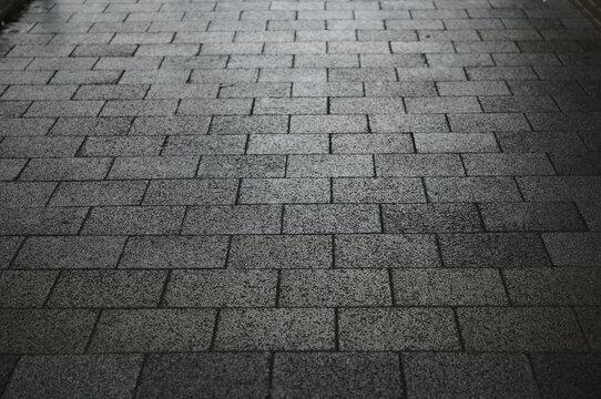 石材の歩道