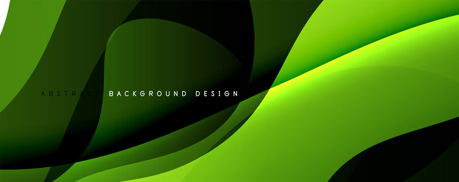 Trendy simple fluid color gradient abstract background with dynamic wave line effect. Vector Illustration For Wallpaper, Banner, Background, Card, Book Illustration, landing page