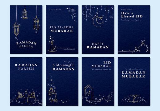 Ramadan Post Layout for Social Media Post