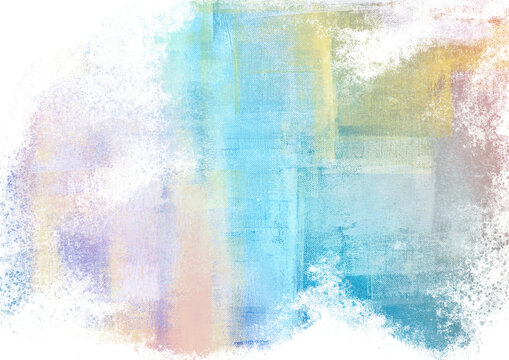 Watercolor fantastic and grungy background