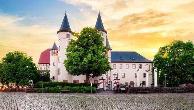 Snow White - Castle in Lohr am Main in the Spessart Mountains, Bavaria. - Schneewittchen - Schloss in Lohr am Main im Spessart
